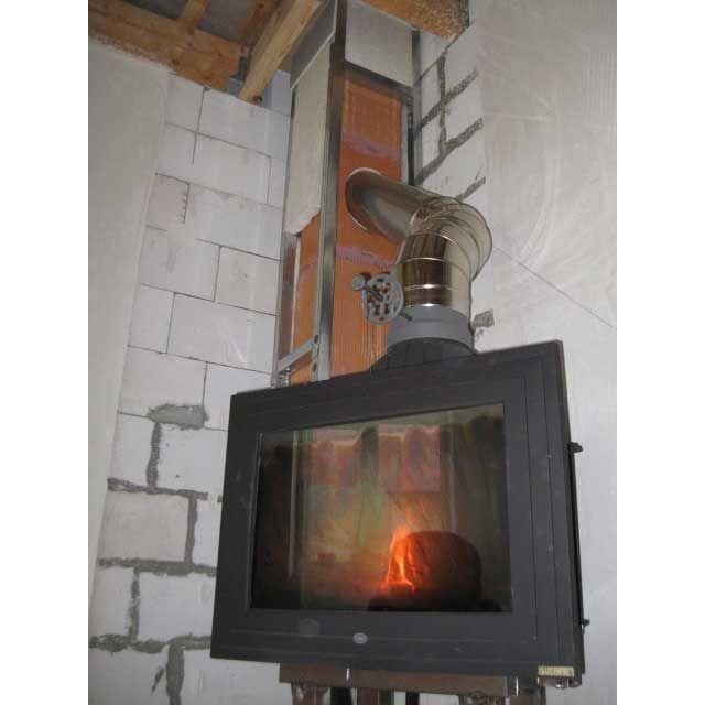Дымоходы для каминов своими руками фото
